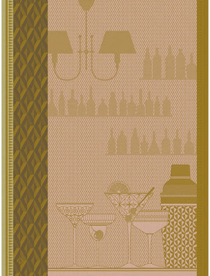 Tea Towel Ambiance Cocktail Grapefruit GRAPEFRUIT 60cm x 80cm
