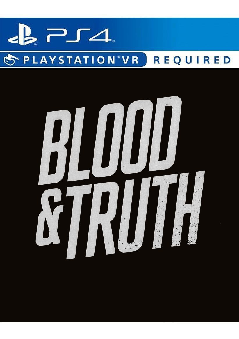 Blood & Truth (PlayStation VR) on PlayStation 4
