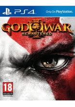 Load image into Gallery viewer, God of War (3) III Remastered on PlayStation 4