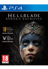 Load image into Gallery viewer, Hellblade: Senua's Sacrifice on PlayStation 4