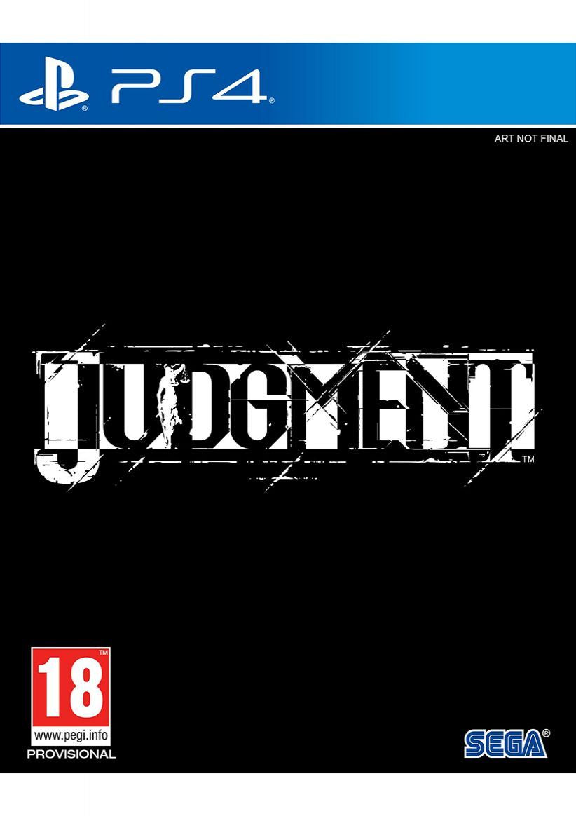 Judgement on PlayStation 4