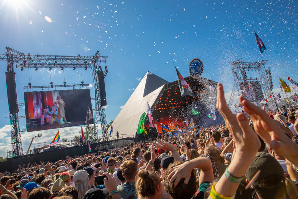 Glastonbury Festival in UK is the biggest outdoor music festival in the world.