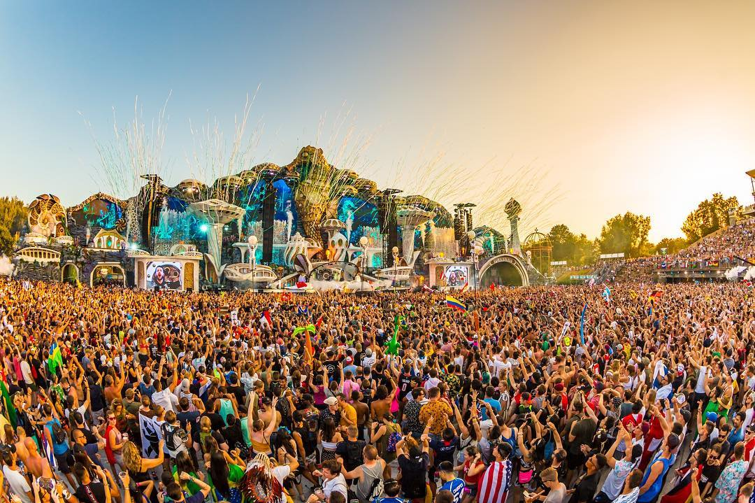 Tomorrowland, world famous Summer music festivals in Europe