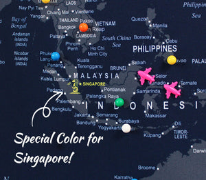 Special color for Singapore