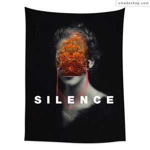 ★Wall Tapestry★ Silence (Vertical) - Frank Moth
