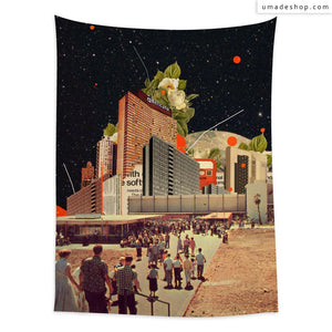 ★Wall Tapestry★ Software Road (Vertical) - Frank Moth
