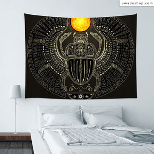 ★Wall Tapestry★  Sacred Scarab (v2) - Barruf