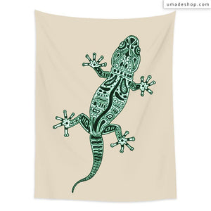 ★Wall Tapestry★ Ornate Lizard  - Barruf
