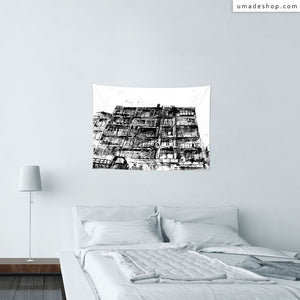 ★Wall Tapestry★ 《Room》─Apartment - 61Chi
