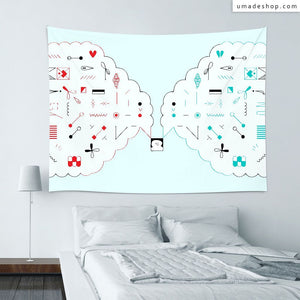 ★Wall Tapestry★ Contrary - Fiona Chien
