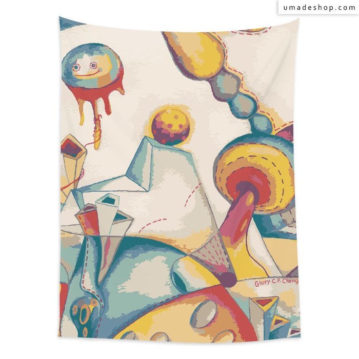 ★Wall Tapestry★ Street Party (Vertical) - Glory Cheng