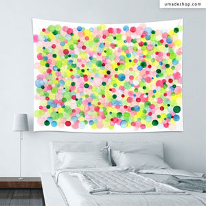 ★Wall Tapestry★ Bubbles Spring -Jodi Sam