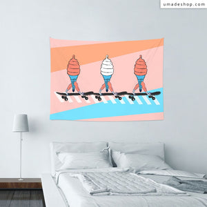 ★Wall Tapestry★ Icecream - Pidang Wu