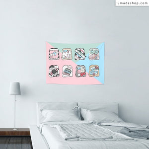 ★Wall Tapestry★ Toast Everything - Pidang Wu
