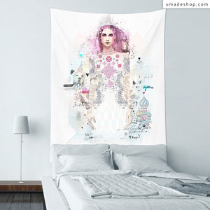★Wall Tapestry★ Ice Princess - Raphaël Vicenzi
