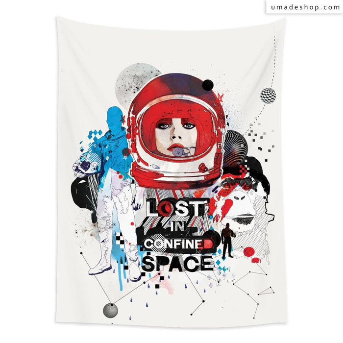 ★Wall Tapestry★ Lost in Confined Space - Raphaël Vicenzi