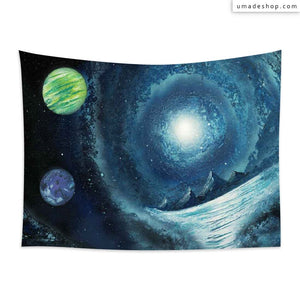 ★Wall Tapestry★ Galaxy Hills - Spot Spray