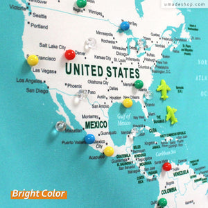 NEW! Colorful Location Magnets for your UMap