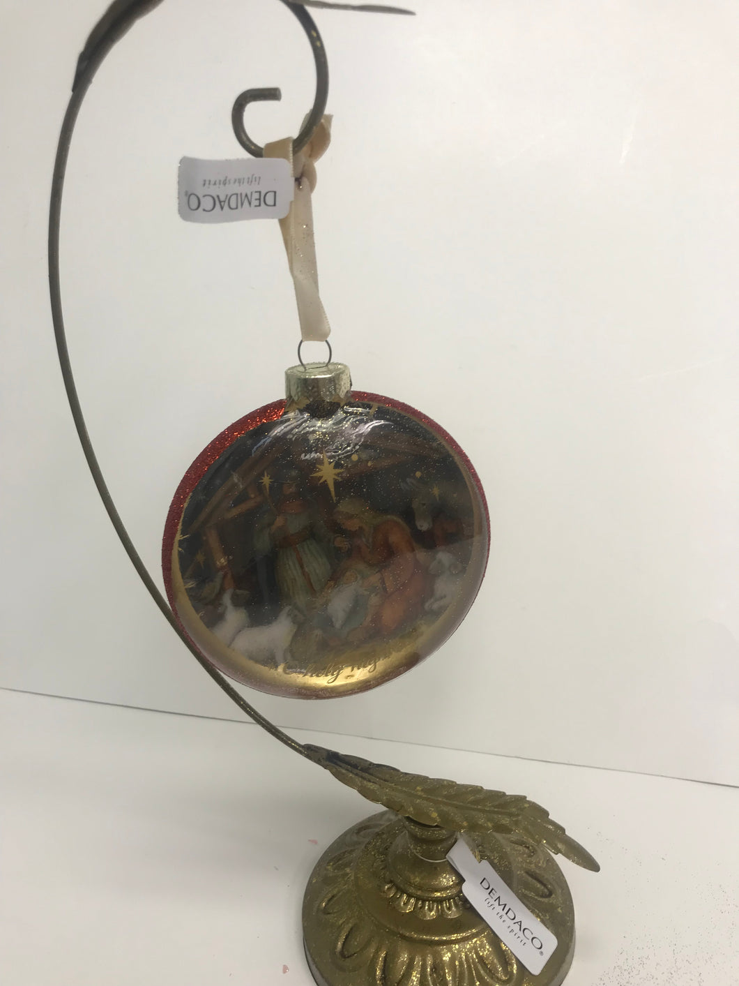 Ornament Holder- Gold and Silver