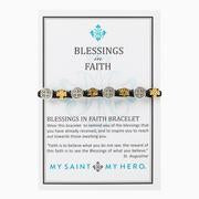 Load image into Gallery viewer, My Saint My Hero Blessings and Faith Bracelet