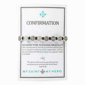 My Saint My Hero Confirmation Bracelet