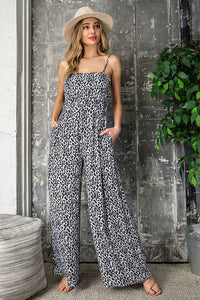 Color me Cheetah Print Jumpsuit