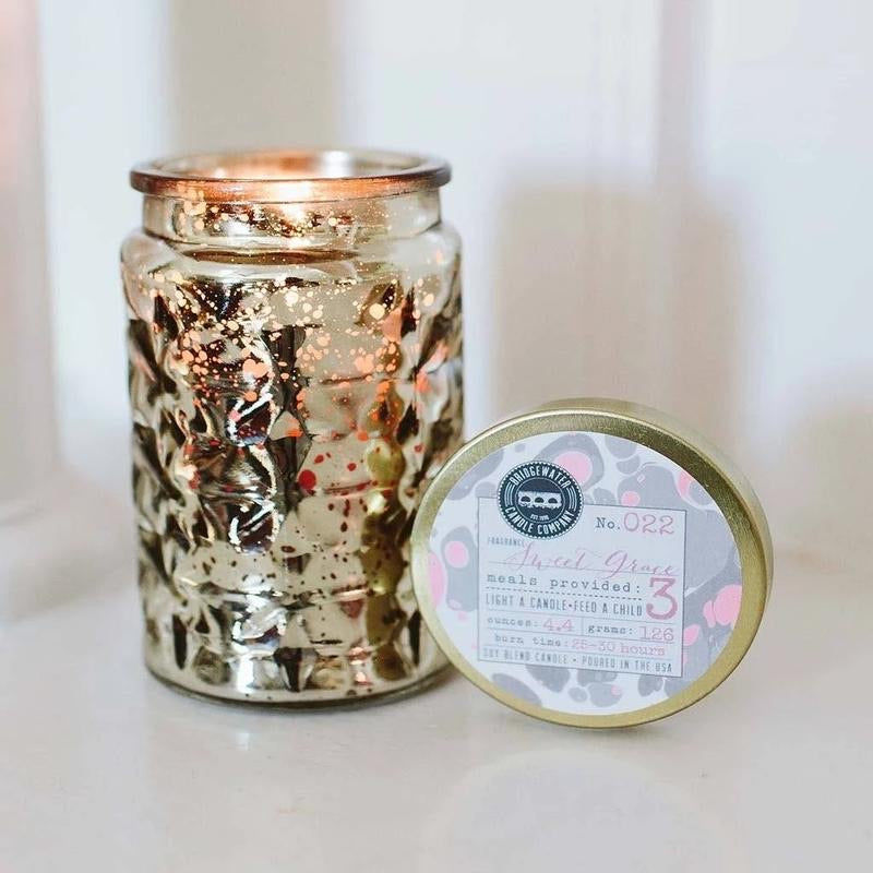Sweet Grace Metallic Gold Candle