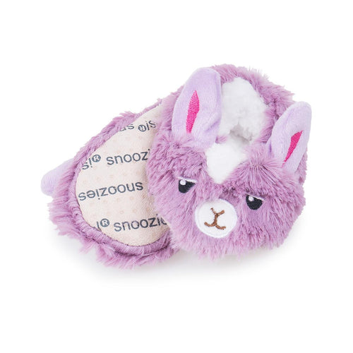 Infant Snoozies- Purple Bunny