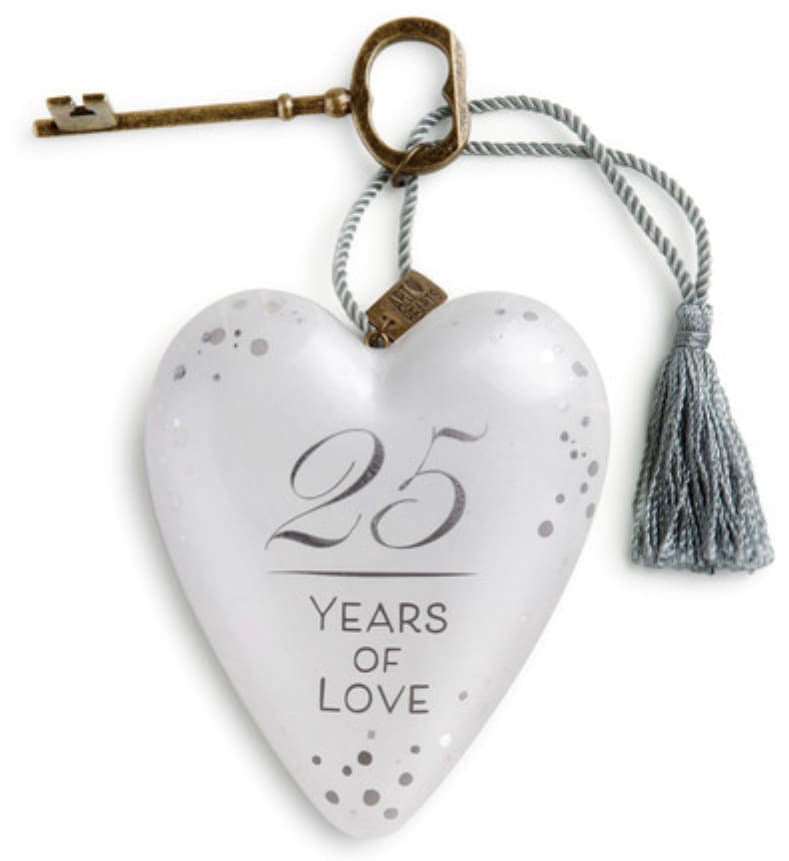 25 Years of Love Art Heart