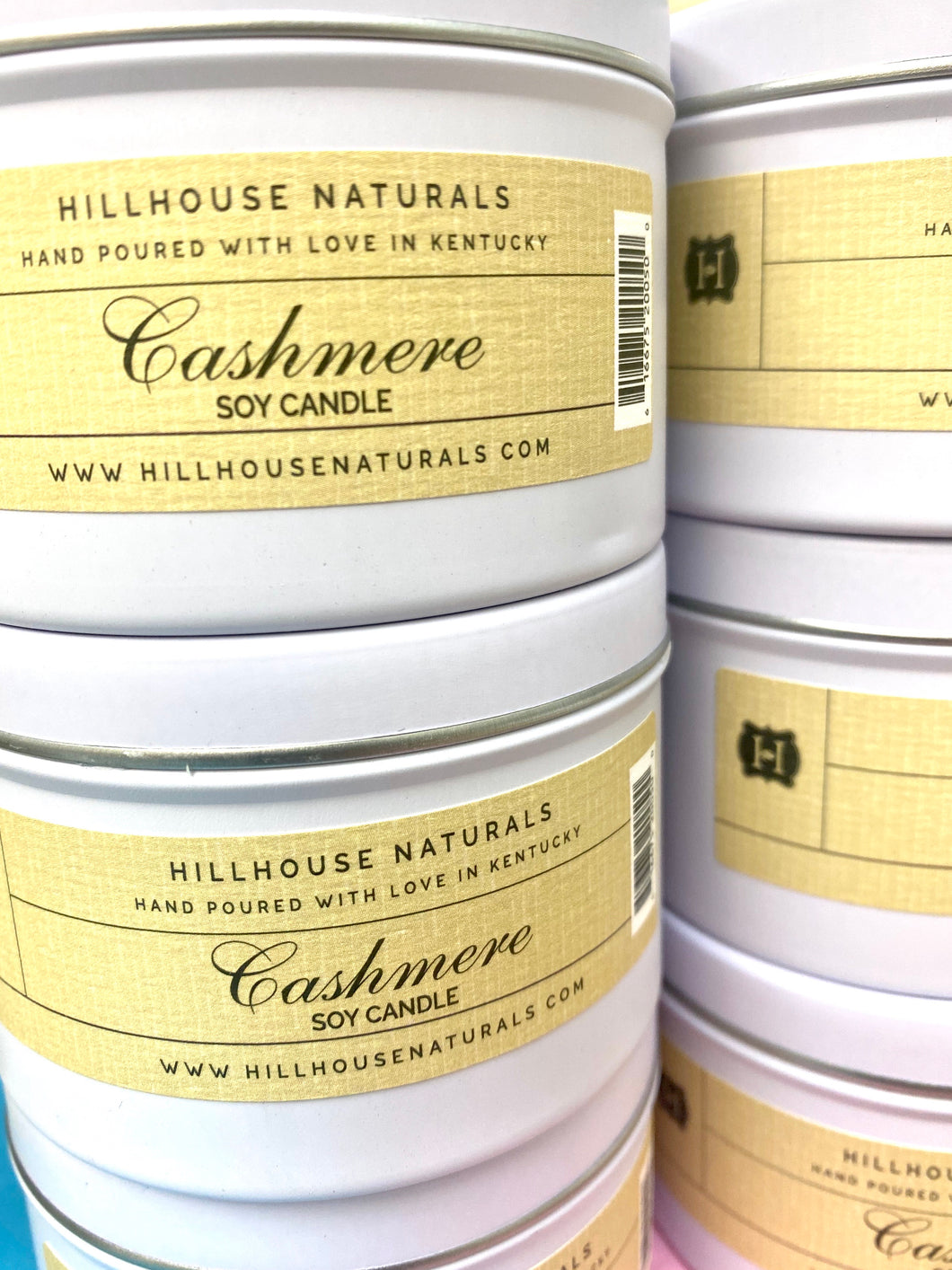 Cashmere Tin Candle