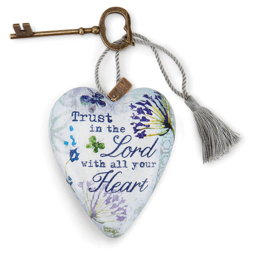 Trust in the Lord Art Heart