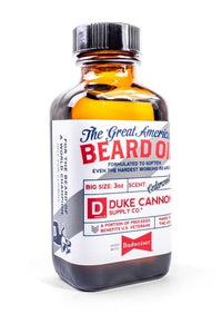 Duke Cannon's Beard Oil