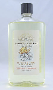 LaTeeDa Effusion Lamp Fragrance- Footprints in the Sand