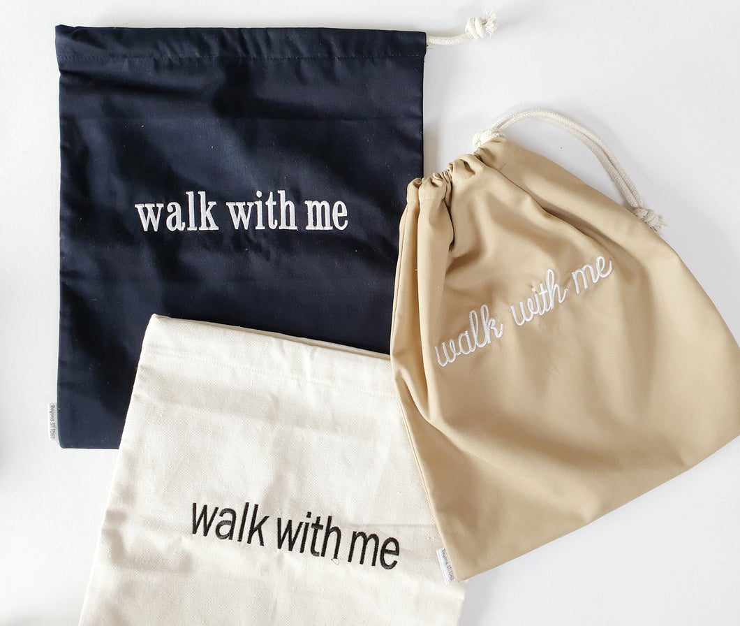 Walk with Me Shoe Bag
