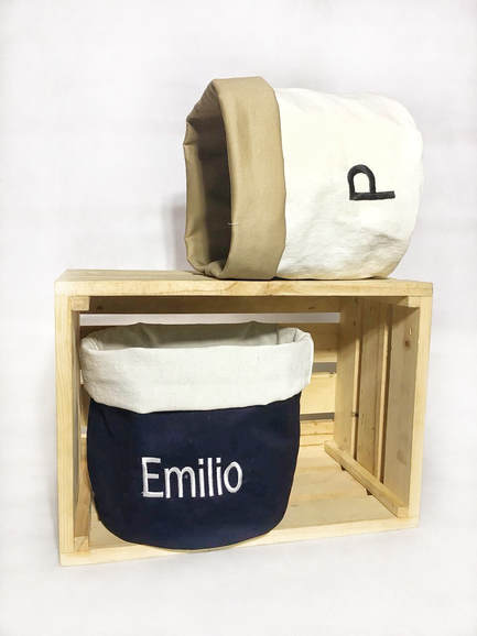Reversible Fabric Bin