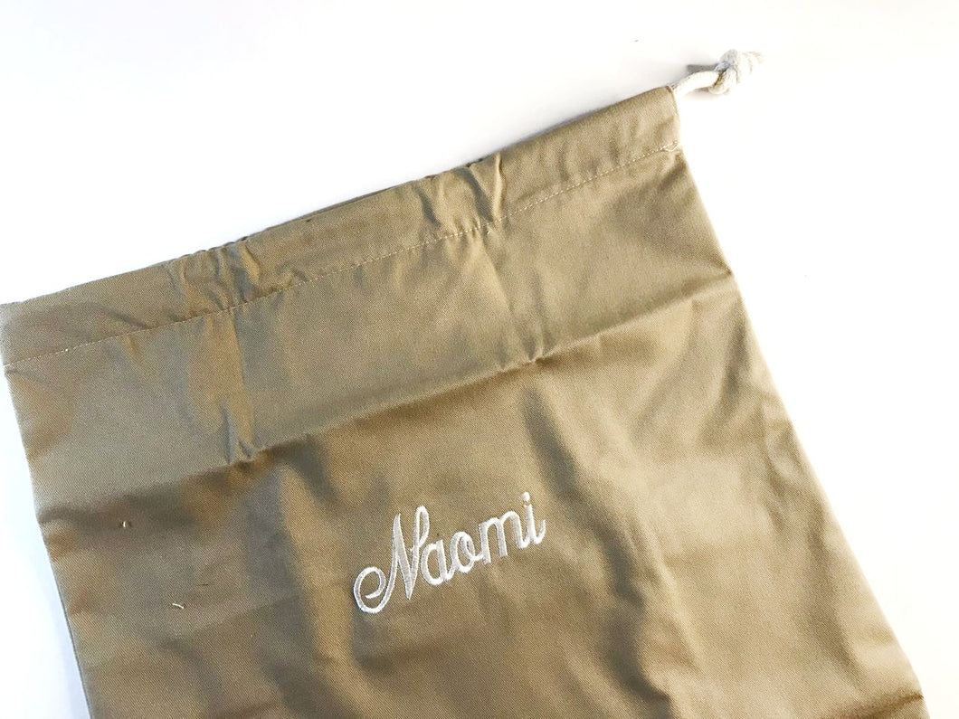 Sample Sale Shoe Bag with Lining