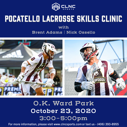 Pocatello Men's Lacrosse Clinic - October 23, 2020
