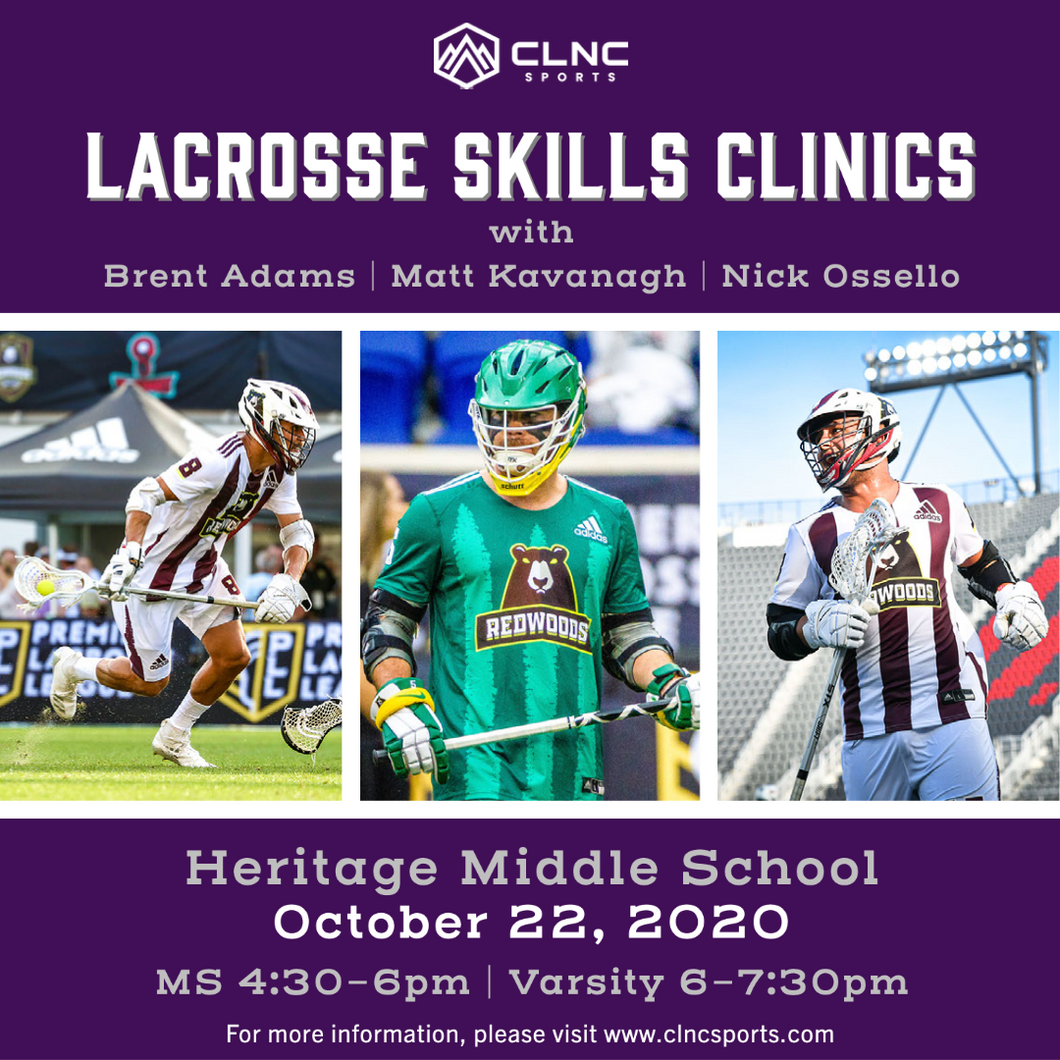 Rocky Mountain Men's Lacrosse Clinics - October 22, 2020