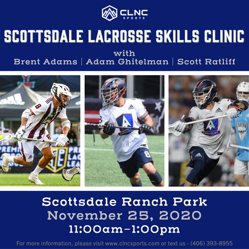 Scottsdale Men's Lacrosse Clinic - November 25, 2020