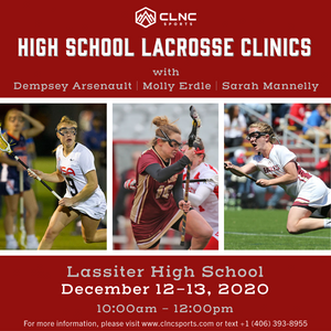 Atlanta (GA) HS Women's Lacrosse Clinics - December 12-13, 2020