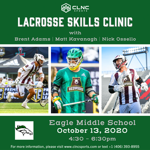 Eagle HS (JV/MS) Men's Lacrosse Clinics - October 13, 2020