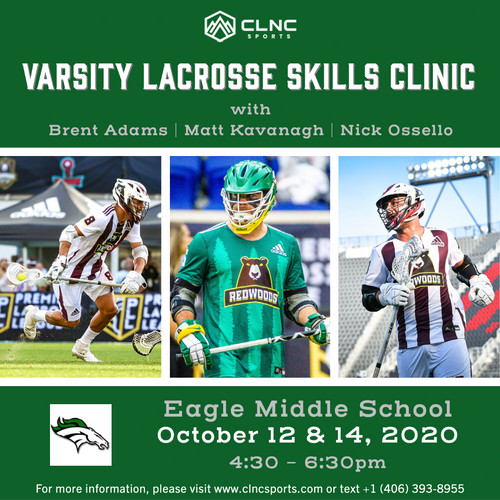 Eagle HS (Varsity) Men's Lacrosse Clinics - October 12 & 14, 2020
