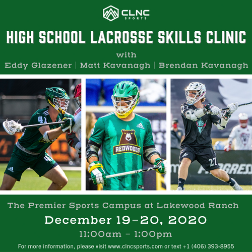 Lakewood Ranch (FL) HS Men's Lacrosse Clinics - December 19-20, 2020