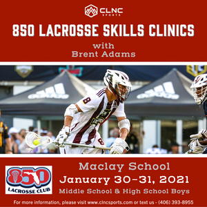 850 (FL) Men's Lacrosse Clinics- January 30-31, 2021