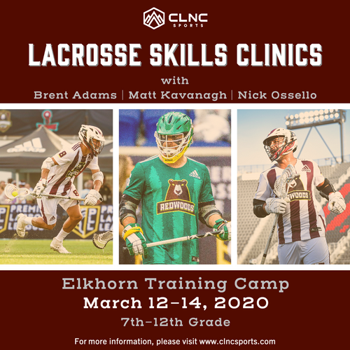 Omaha (NE) Men's Lacrosse Clinics - March 12-14, 2020