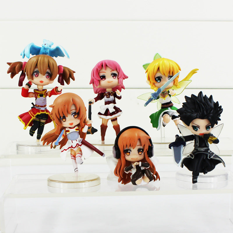 Sword Art Online Nendoroids Figure set