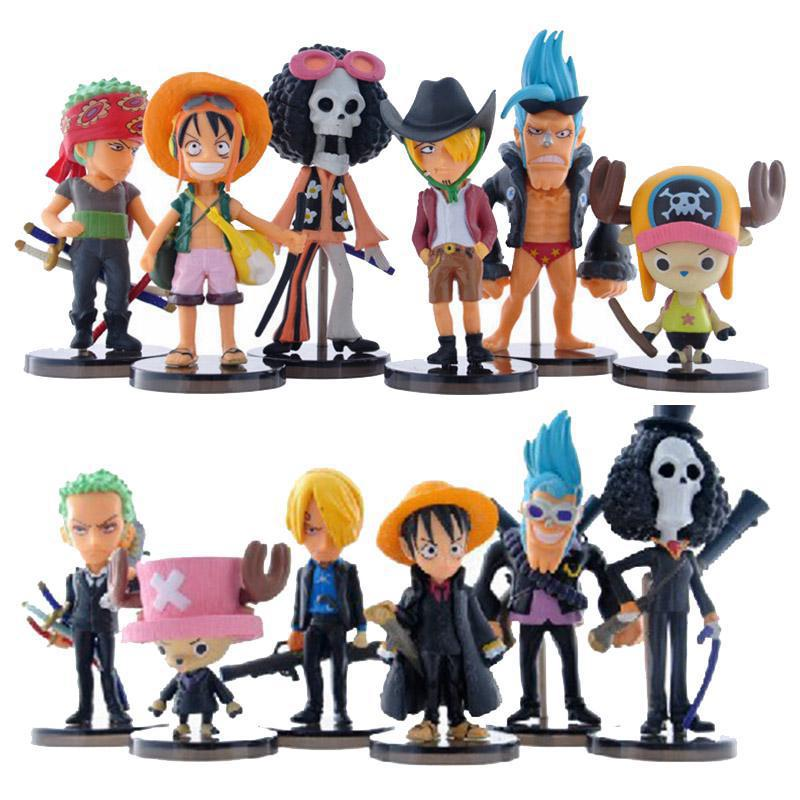 One Piece Figurine Set
