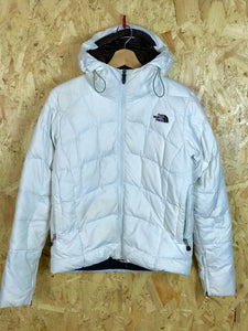 White North Face Ski Jacket