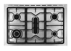 EF Freestanding Stainless Steel Gas Cooker with Electric Oven