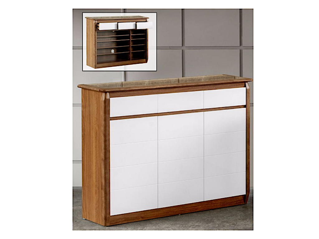 Anne 3 Door Shoe Cabinet (DA3343)